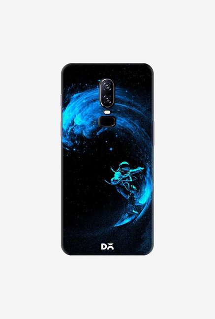 DailyObjects Space Surfing Blue Case Cover For OnePlus 6