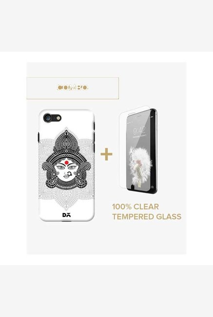DailyObjects Goddess Durga Case For iPhone 7 Combo