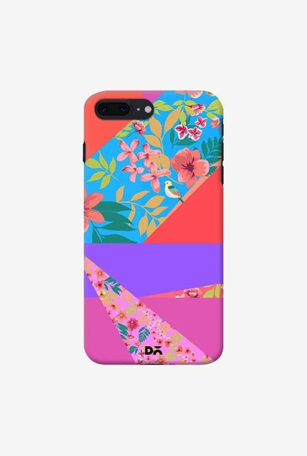 DailyObjects Floral Diagonals Case For iPhone 7 Plus