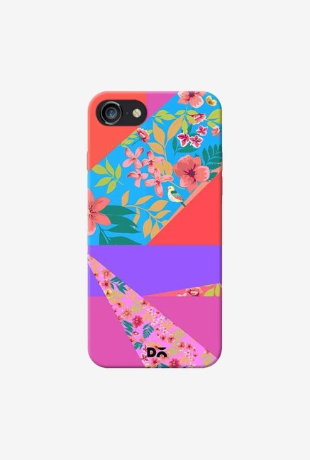 DailyObjects Floral Diagonals Case For iPhone 7