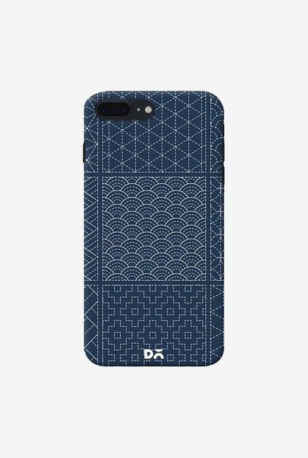 DailyObjects Indigo Sashiko Six Case Cover For iPhone 8 Plus