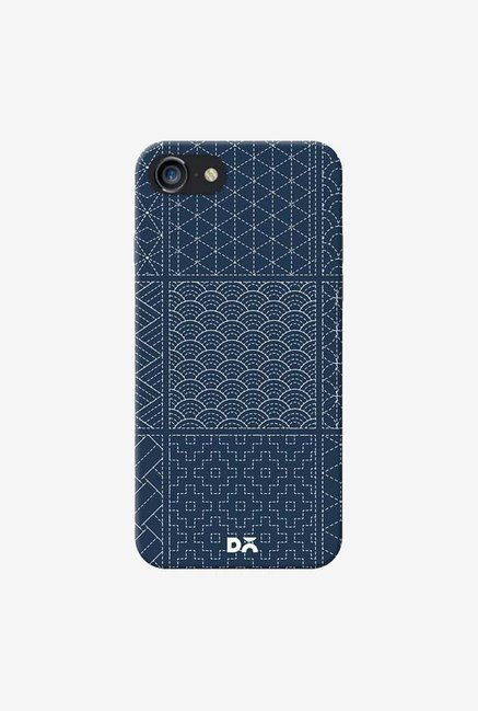 DailyObjects Indigo Sashiko Six Case Cover For iPhone 8