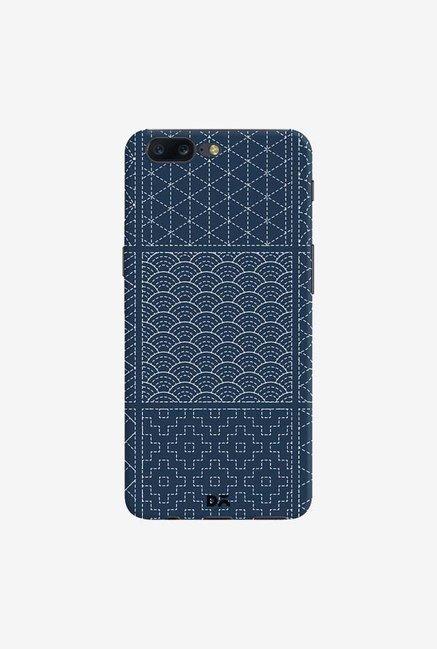 DailyObjects Indigo Sashiko Six Case Cover For OnePlus 5