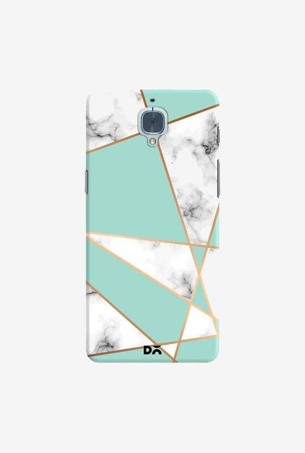 DailyObjects Marble Gold Stripe Case Cover For OnePlus 3T
