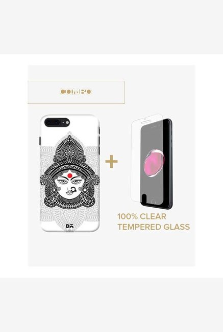 DailyObjects Goddess Durga Case For iPhone 7 Plus Combo