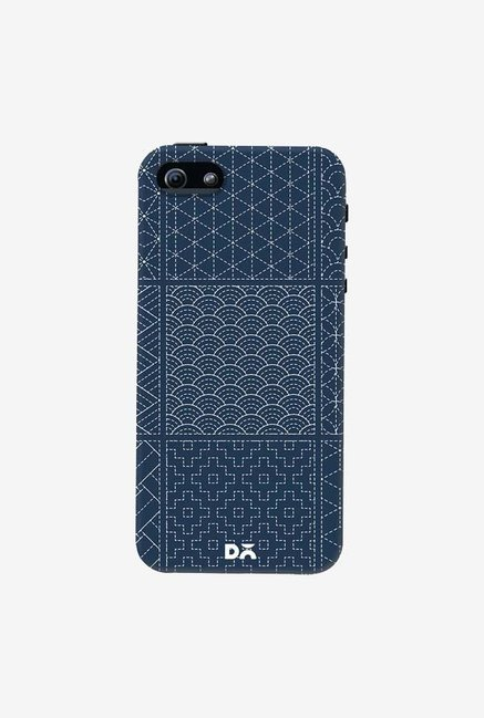 DailyObjects Indigo Sashiko Six Case Cover For iPhone 5/5S