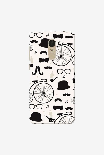 DailyObjects Hipster Icons Case Cover For Xiaomi Redmi Note 5