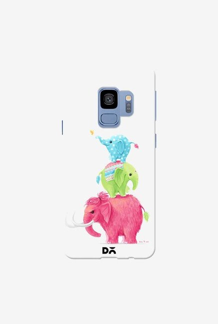 DailyObjects Candy Elephants Case Cover For Samsung Galaxy S9