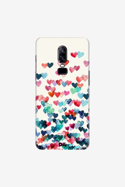 DailyObjects Heart Connections Case Cover For OnePlus 6
