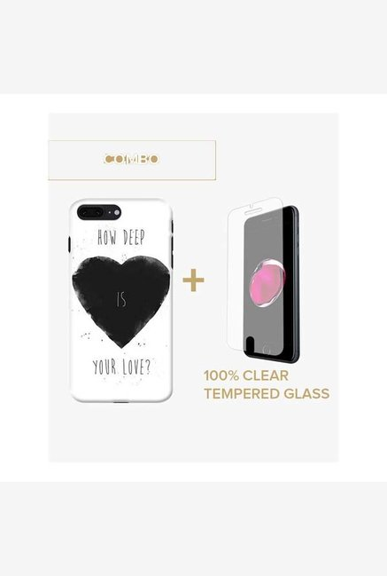 DailyObjects How Deep Is Your Love Case For iPhone 7 Plus Combo