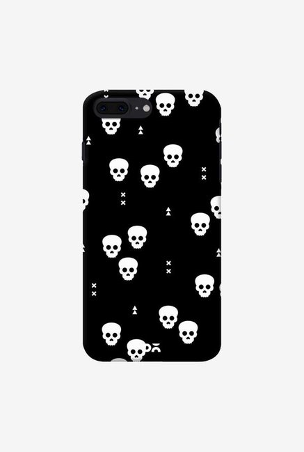 DailyObjects Spooky Skulls Black Case Cover For iPhone 7 Plus