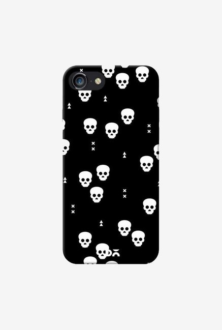DailyObjects Spooky Skulls Black Case Cover For iPhone 7