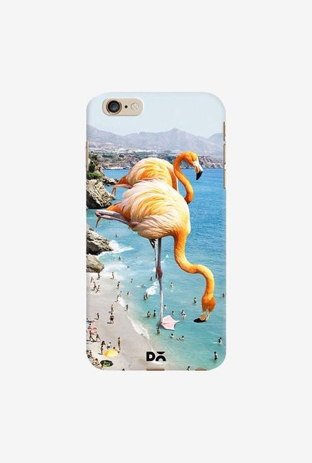 DailyObjects Flamingos On The Beach Case For iPhone 6 Plus