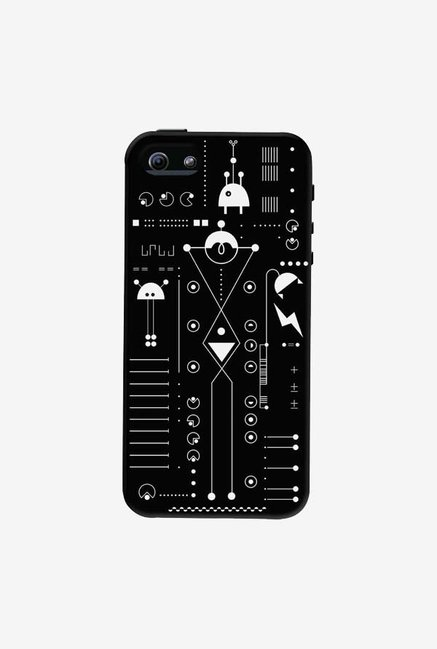 DailyObjects Cosmo Series Black Case For iPhone 5/5S