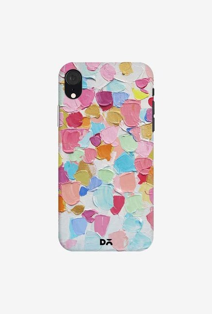 DailyObjects Amoebic Confetti Case Cover For iPhone XR
