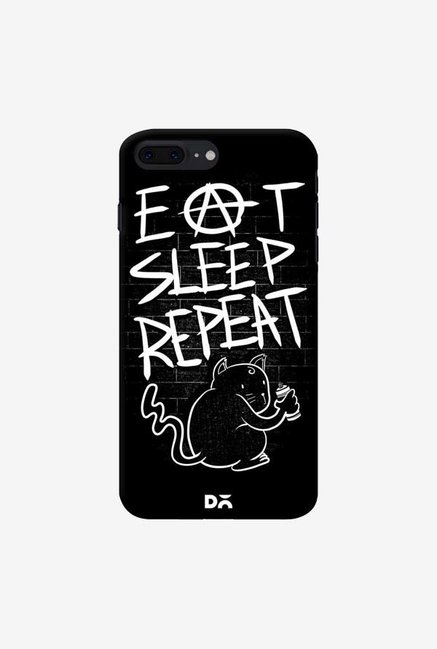 DailyObjects Eat Sleep Repeat Case Cover For iPhone 8 Plus
