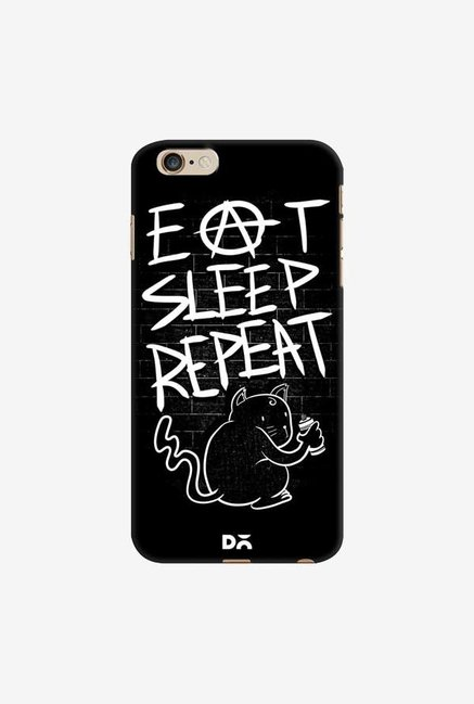 DailyObjects Eat Sleep Repeat Case Cover For iPhone 6 Plus