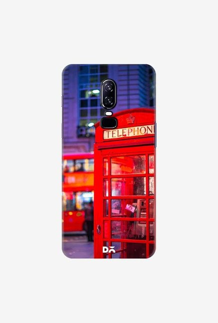 DailyObjects Telephone Box Case Cover For OnePlus 6