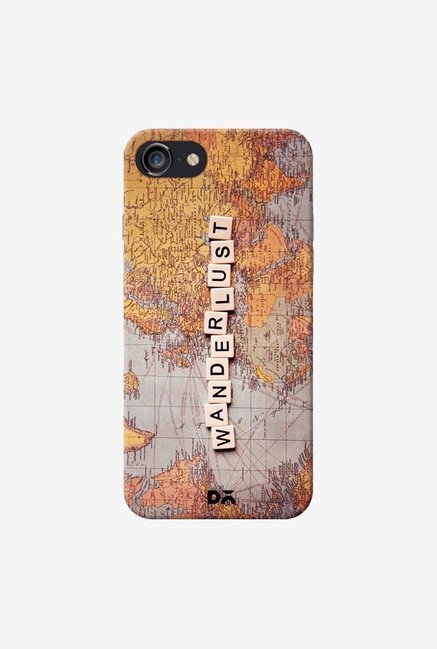 DailyObjects Wanderlust Map Case For IPhone 7