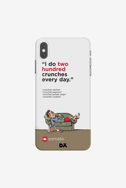 DailyObjects Crunches Case Cover For iPhone XS Max