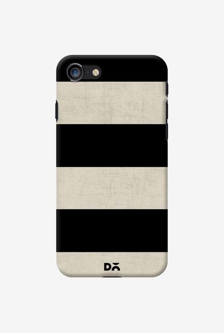 DailyObjects Vintage Black Stripes Case For IPhone 7
