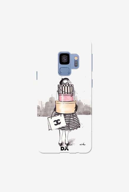 DailyObjects Shopping Junkie Case Cover For Samsung Galaxy S9