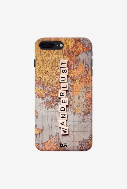 DailyObjects Wanderlust Map Case For IPhone 7 Plus