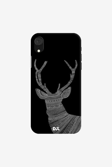 DailyObjects Aztec Dark Stag Case Cover For iPhone XR