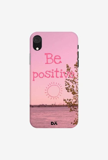 DailyObjects Be Positive Case Cover For iPhone XR