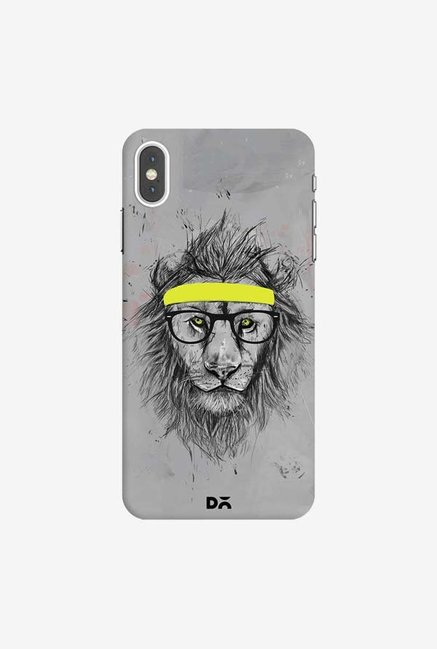 DailyObjects Hipster Lion Case Cover For iPhone XS Max