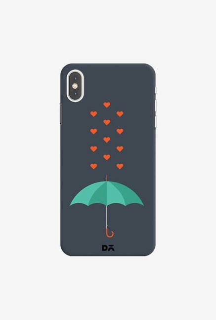 DailyObjects Its Raining Hearts Case Cover For iPhone XS Max