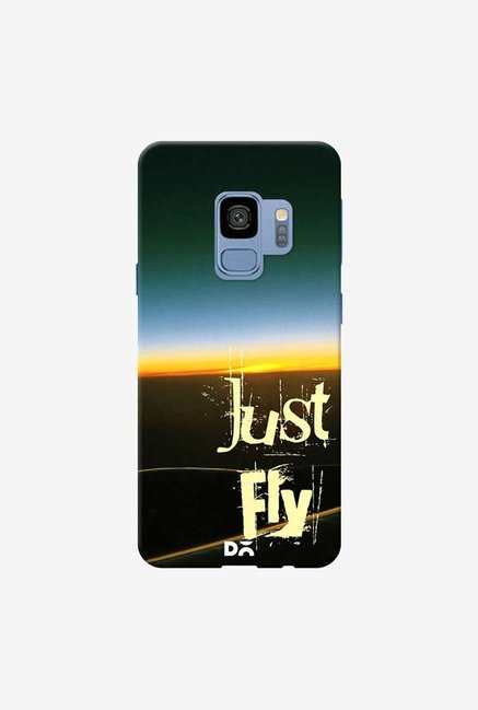 DailyObjects Just Fly Case Cover For Samsung Galaxy S9