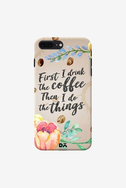DailyObjects I Drink Coffee Case Cover For iPhone 8 Plus