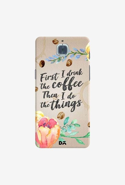 DailyObjects I Drink Coffee Case Cover For OnePlus 3T