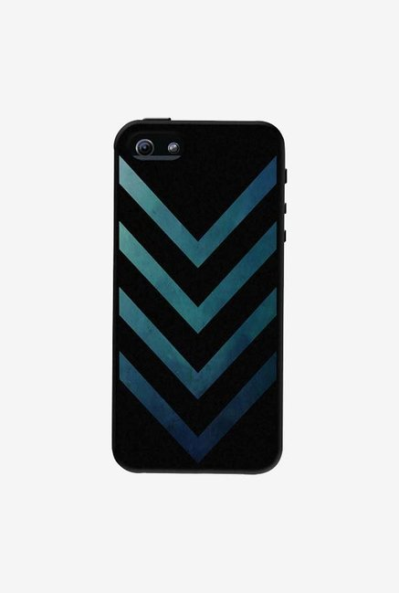 DailyObjects Dark Blue Arrow Case For iPhone 5/5S