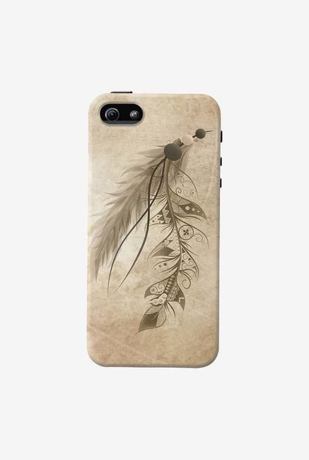 DailyObjects Bohemian Feather Case For iPhone 5/5S