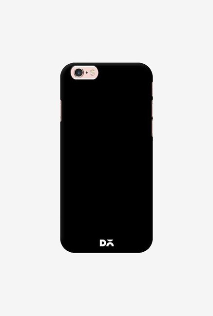 DailyObjects Jet Black Case For iPhone 6S