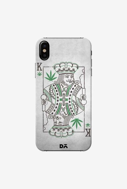 DailyObjects Weed King Case Cover For iPhone X