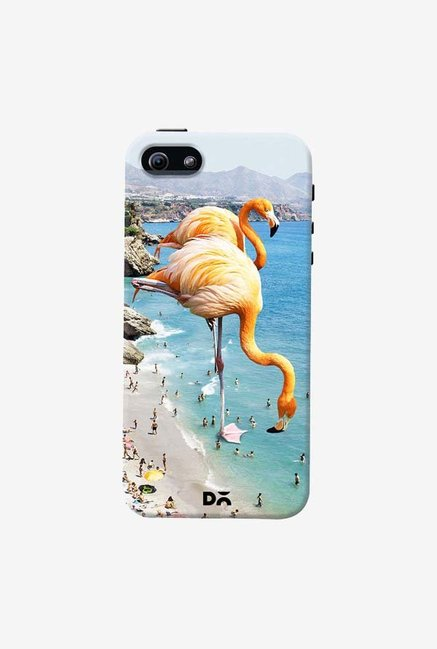 DailyObjects Flamingos On The Beach Case For iPhone 5/5S