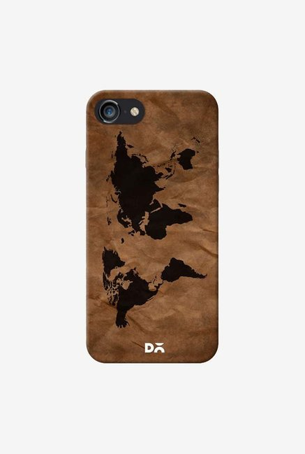 DailyObjects Wrinkled World Map Case For IPhone 7