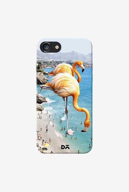 DailyObjects Flamingos On The Beach Case For iPhone 7