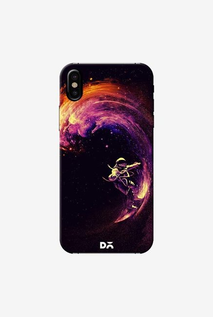 DailyObjects Space Surfing Case Cover For iPhone X