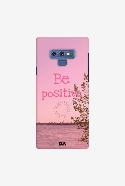 DailyObjects Be Positive Case Cover For Samsung Galaxy Note 9