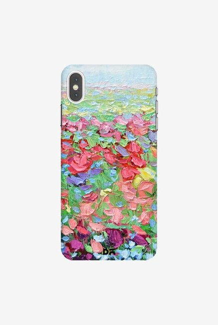 DailyObjects Blue Bonnet Highland Case Cover For iPhone XS Max