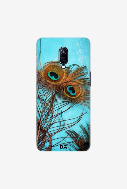 DailyObjects 3 Peacock Feathers Case Cover For OnePlus 6T