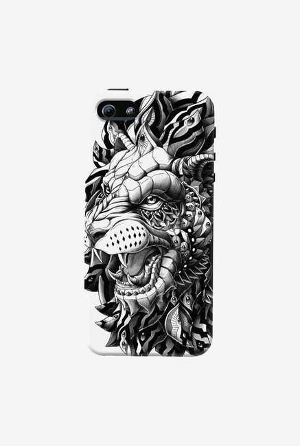DailyObjects Ornate Lion Case For iPhone 5/5S