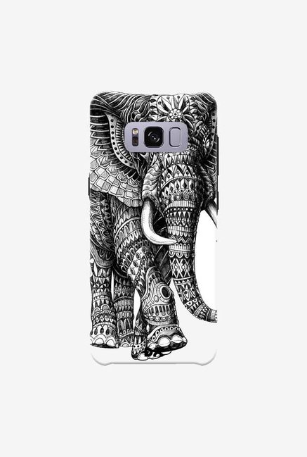 DailyObjects Ornate Black Elephant Case For Samsung Galaxy S8