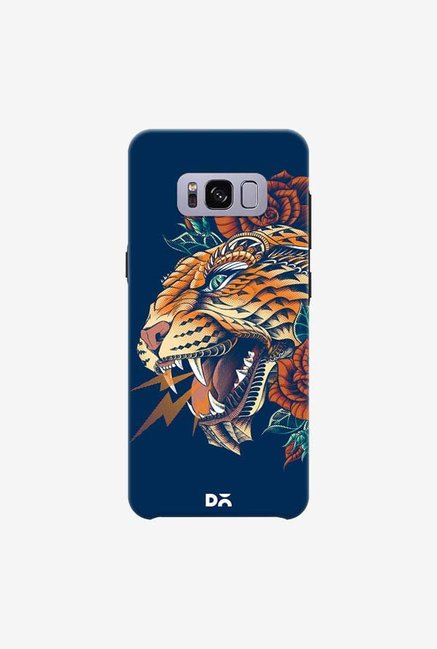 DailyObjects Ornate Leopard Blue Case For Samsung Galaxy S8