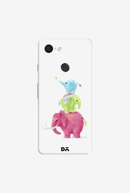 DailyObjects Candy Elephants Case Cover For Google Pixel 3