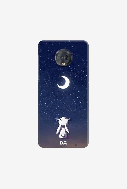 DailyObjects Moon Bunny Case Cover For Motorola Moto G6 Plus